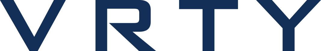 VRTY logo in text