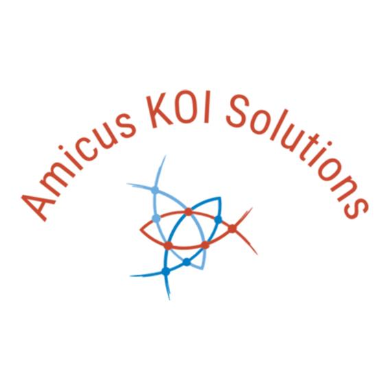 Amicus koi logo