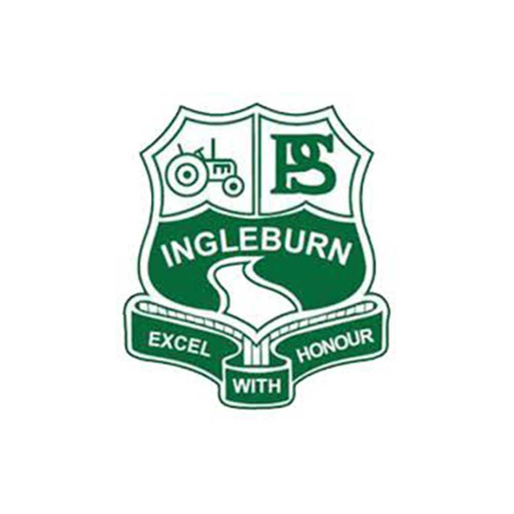 Ingleburn public school logo