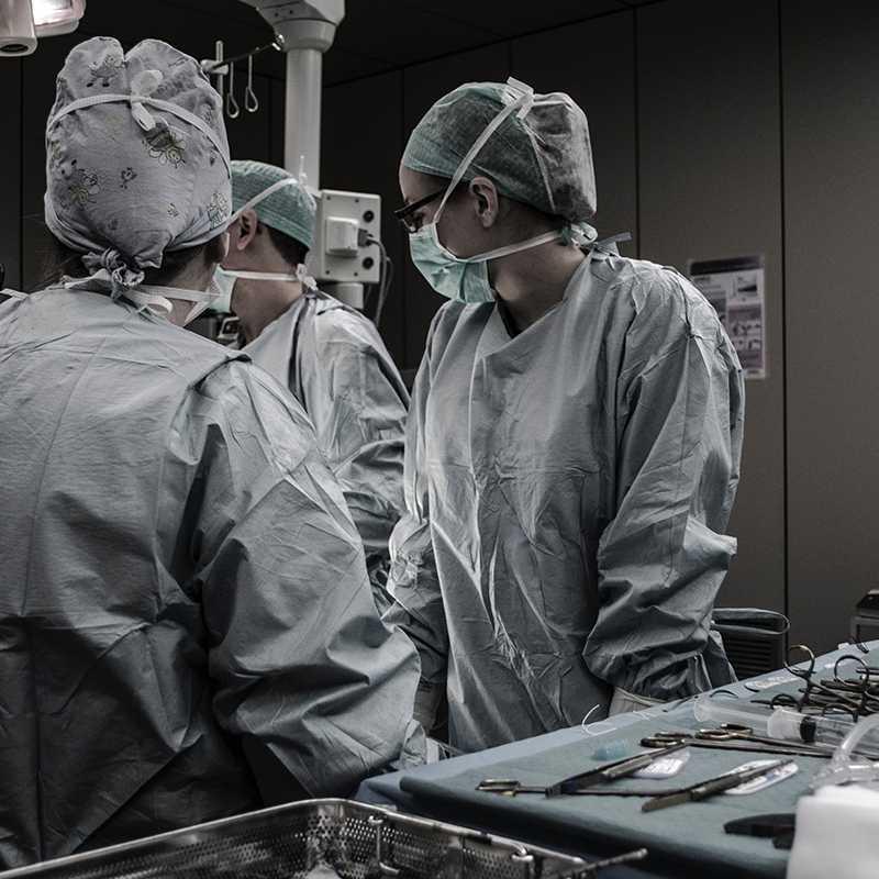 surgery room training