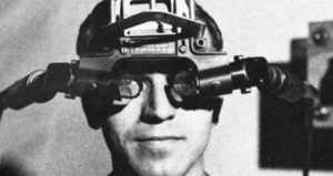 The first VR head-mounted display - The Sword of Damocles