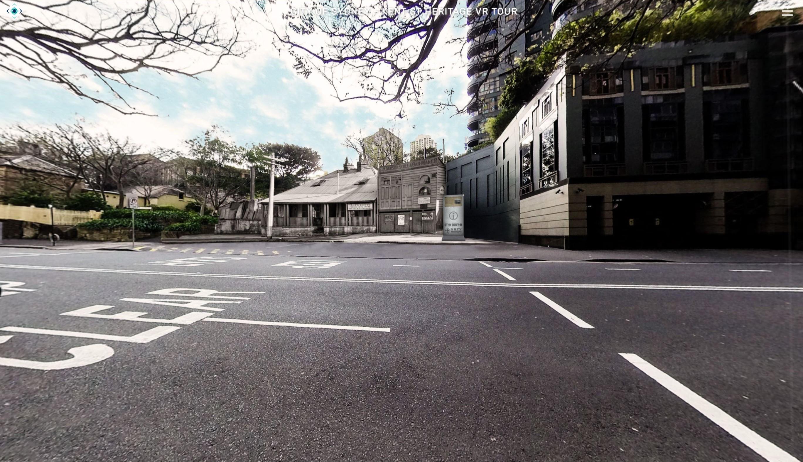 City of Sydney VR past
