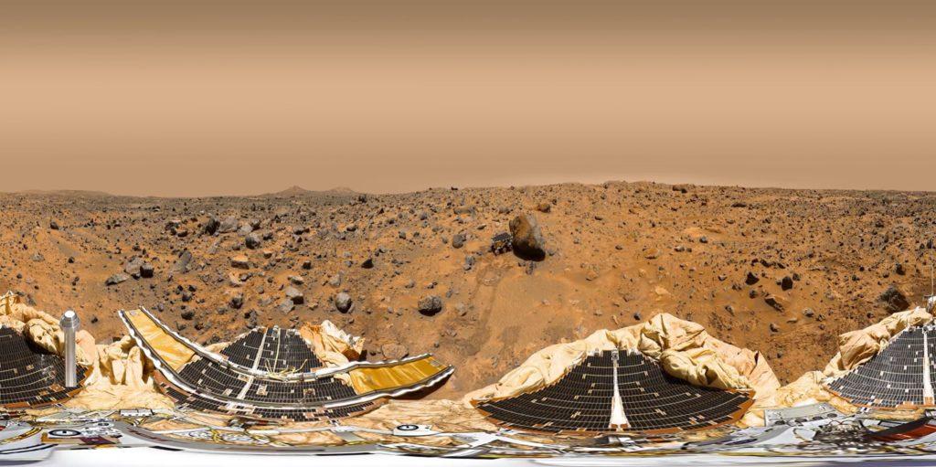 Mars surface 360-degree