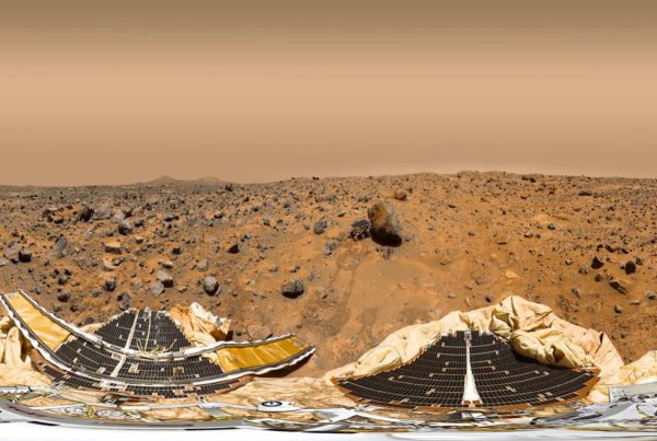 Mars surface 360-degree